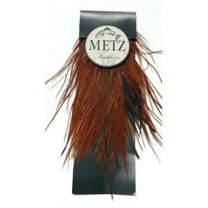 Cock saddle Metz -2 Natural Brown
