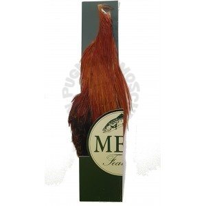 Half rooster cape Metz -3 Brown Nat.