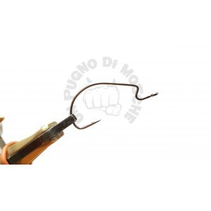 Worm hook offset 10 pcs