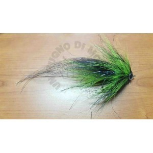 Pike streamer 23cm Fluo gn-Black