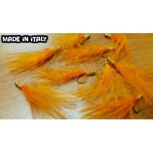 Orange marabou I