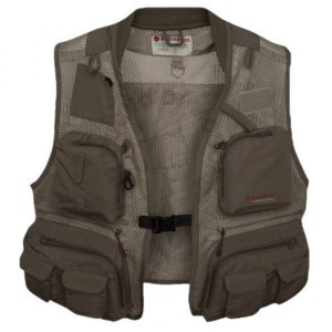 First run fishing vest