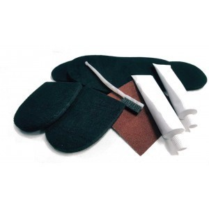 Kit wading sole felt repair
