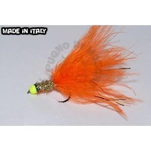 Orange marabou II
