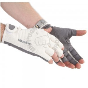 SUNGLOVE WITH STRIPPING FINGERS