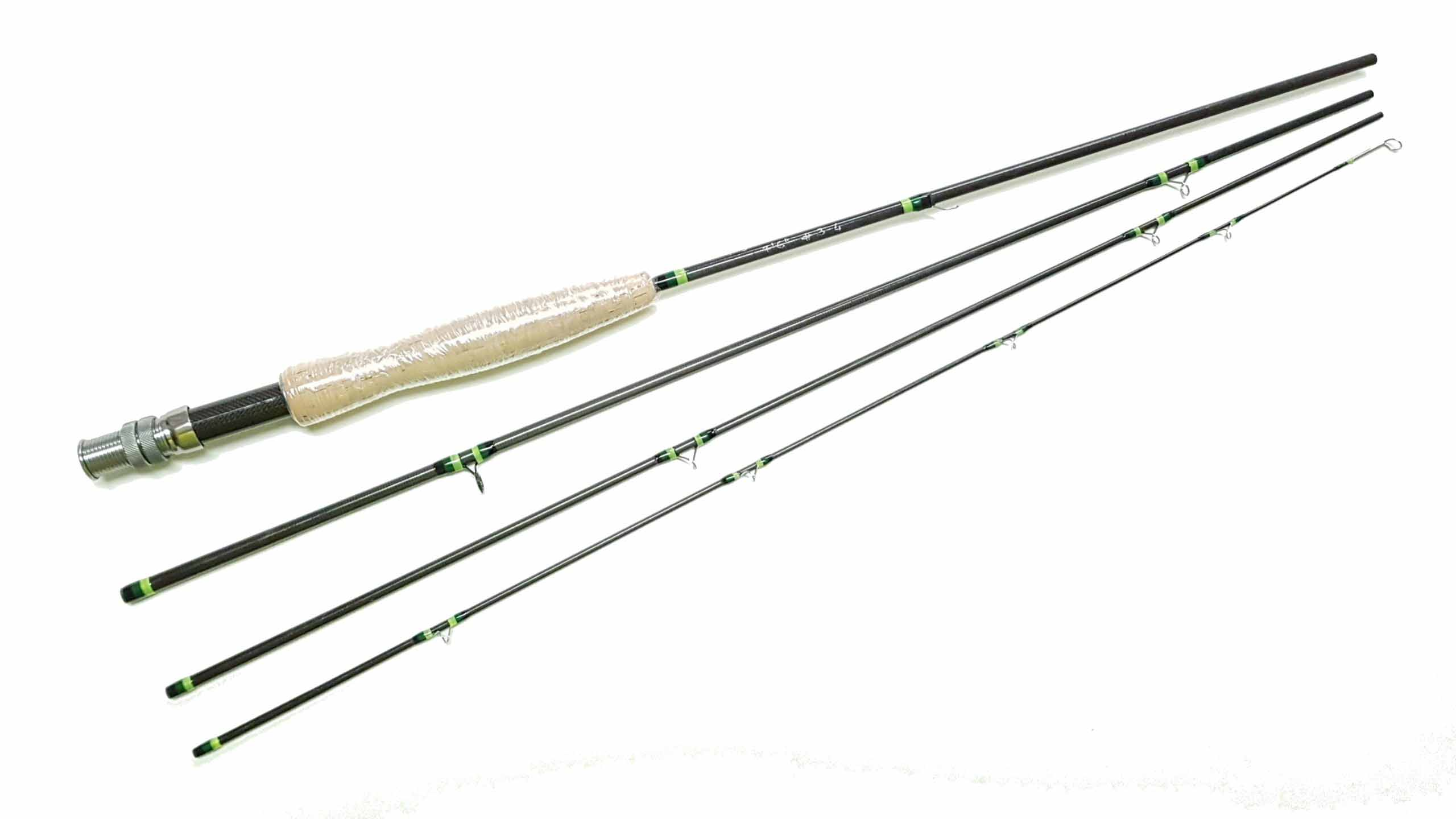 7,6 fast action fly rod